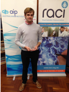 James Titchener, Australian National University, 2016 AIP NSW Postgraduate Award Winner