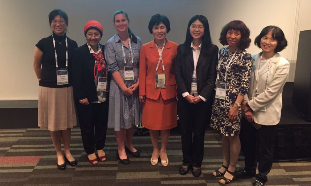Speakers from the Women in Physics sessions at the recent APPC-AIP Congress in Brisbane.