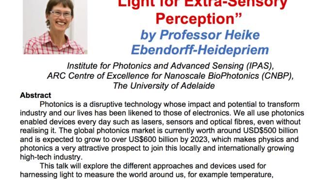 Light for Extra-Sensory Perception