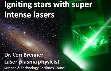 Igniting stars with super intense lasers