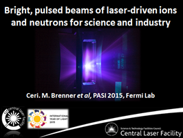 Laser-driven beams: the next generation of accelerator technology