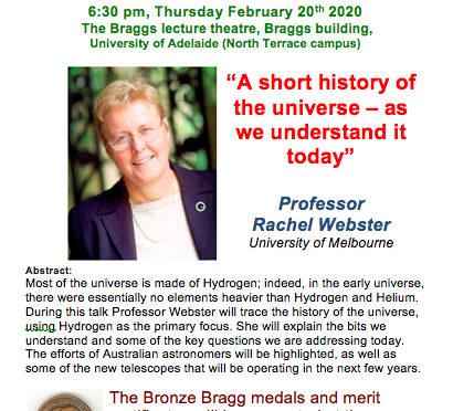 Bronze Bragg Presentation and Lecture
